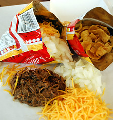 Brisket & Pulled Pork Chili Frito Pie - Live Oak Barbecue (freecandy13) Tags: chili texas bbq pork frito barbecue liveoak smoked brisket fritopie pulledpork smokedbrisket texasbbqaustinbbq