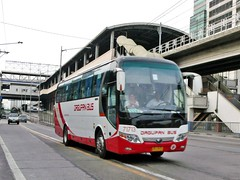 smile! :) (bhettina limchu) Tags: bus philippines north company inc dagupan edsa centris yutong dbci 71713
