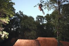 Aaron Day (Garrett Meyers) Tags: light dave canon bmx marcus trails jeremy dirt obrien kaiser pow jumps ruess garrettmeyers powsbmxcom powsbmx