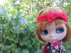 We enjoyed strolling through the garden... BL♥VED 21/365