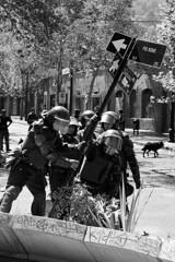 Marzo (AriCaFoix) Tags: chile santiago students canon march education protest police protesta carabineros 1855mm paco xsi marcha manifestacin estudiantes p