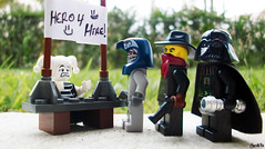 Week 12 (chrisofpie) Tags: chris pie cowboy funny lego jester liam legos hero knight vader minifig mummy bandit darthvader weeks mime hire 52 villians pharoh minifigure 52weeks whitejester chrisofpie 52weeksofliamthemime