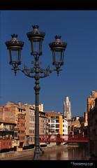 3 + 1 [Girona] (Fototerra.cat) Tags: church catalonia girona pont catalunya pasoscatalans fanal onyar esglsia casesdelonyar nikond90 fototerracat