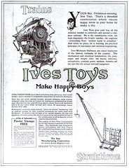 1915 Ives Toys For Boys (carlylehold) Tags: opportunity robert boys mobile vintage toys for construction trains email smartphone join tmobile 1915 keeper signup haefner carlylehold solavei haefnerwirelessgmailcom