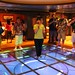 Oceaneer Lab play floor on the Disney Fantasy