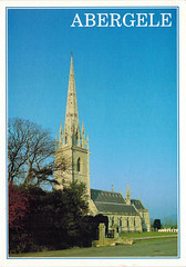 The Marble Church, Abergele, Wales UK (col underhill) Tags: uk greatbritain church wales view britishisles unitedkingdom britain postcard picture steeple spire gb british welsh marble northwales clwyd abergele jarthurdixon colinunderhill