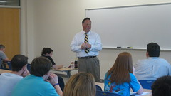 Lt. Governor Darr Visit to Arkansas Tech University
