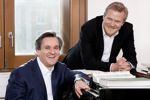 Music Director Antonio Pappano and Director of Opera Kasper Holten © Johan Persson/ROH 2011