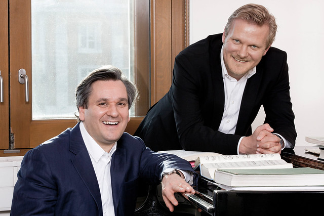 "The Royal Opera's Music Director Antonio Pappano and Director of Opera Kasper Holten.  Find out more: <a href=""http://www.roh.org.uk"" rel=""nofollow"">www.roh.org.uk</a>  Photo by Johan Persson  Date taken: 11/11/11"