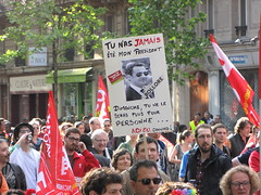 Manif du 1er Mai 2012 (tofz4u) Tags: paris demo protest demonstration 75006 manif manifestation 2012 1ermai sarko sarkoland