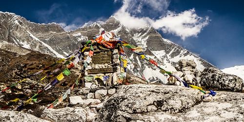 Face sud du Lhotse (8516m)