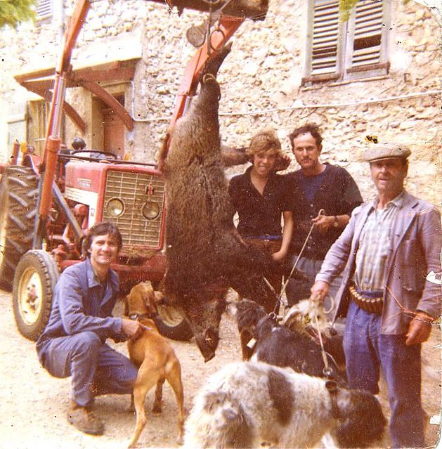De gauche à droite : Raoul TROIN, Yves BIANCCHI, Roger SAUVE, Henri DEGIOANNI.