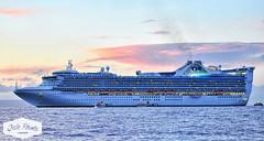 Golden Princess Cruise Ship (Rich (Sparky_R)) Tags: hawaii nikon maui nikkor goldenprincess 80200mm d300