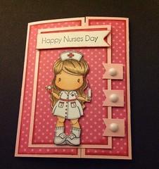 Nurse Lucy (Cygenovia) Tags: cards lucy handmade nurse