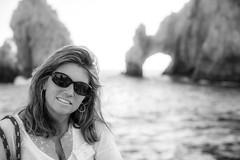 Mexacali Mama (Thomas Hawk) Tags: vacation bw hot sexy beautiful mexico cabo pretty arch fav50 gorgeous babe landsend fox bajacalifornia baja hottie lovely cabosanlucas loscabos elarco fav10 fav25 archofcabosanlucas