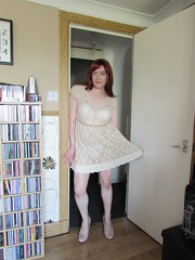 A brief rehearsal, some shots for hose lovers and a beautiful lace dress I bought the other day X (annajblair) Tags: boy girl dress lace tgirl transvestite fishnets crossdresser tg mtf genderbender maletofemale genderfluid girlslikeus annasecretpoet