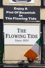Flowing Tide, Dublin 1. (piktaker) Tags: ireland bar pub inn eire tavern pubsign roi innsign publichouse republicofireland flowingtide