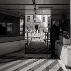 Aldo Manunzio. Oltre il pontile dell'imbarcadero, un altro Mondo, le Gallerie dell'Accademia  #bn #bnw #blancetnoir #venezia #streetphoto #lumixlx100 #lumixlife #light #biancoenero #venice #FF #instagood #monochrome #blackandwhite #monocrome #galleriedell (acid_nam) Tags: venice square bn squareformat venise venezia bnw biancoenero pontile accademia 2016 gallerie actv imbarcadero galleriedellaccademia iphoneography losguardooltre manunzio instagramapp aldomanunzio acidnam