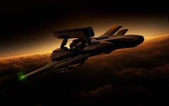 Night Stalker (Red Spacecat) Tags: dark stealth usaf peregrine acecombat drone nightstalker ucav
