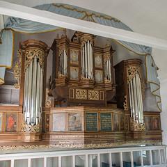 Arp-Schnitger-Orgel der Kirche St. Nicolai et St. Martini in Steinkirchen (RaiLui) Tags: square kirche 11 organ orgel quadratisch altesland arpschnitger