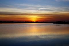 Haarrijnseplas, 4 mei 2016 (Christiaan Krouwels) Tags: holland nature netherlands zonsondergang n nederland natuur zee zomer zon haarrijnseplas