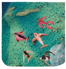 AQUARIUM (KOHLI MICHEL) Tags: art collage aquarium arte peces acuario poissons artkohli