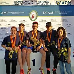 Ana Mariblanca gana el campeonato españa triatlon universitario 3