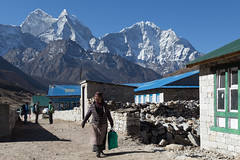 Morning in Periche (D A Scott) Tags: nepal camp mountains trek lakes everest base himalayas gokyo