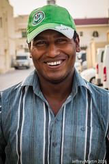 (Dubai Jeffrey) Tags: street man dubai bangladeshi greencap abuhail