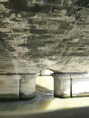 Under Pont de la Concorde (carolyngifford) Tags: bridge paris riverseine