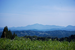 (.) Tags: summer sky mountain nature japan