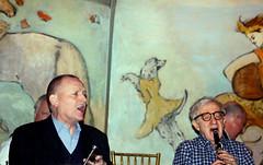 Woody Allen with the Eddy Davis New Orleans Jazz Band (Clara Ungaretti) Tags: show nyc newyorkcity portrait music usa playing ny newyork man caf musicians bar america us concert manhattan jazz american director woodyallen menswear menstyle menchic woodyallenandhisneworleansjazzband woodyalleneddydavisneworleansjazzband