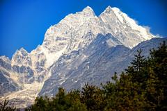 Peak of the Kongde Ri group, Khumbu Himal, Nepal (CamelKW) Tags: nepal 2016 mountainpeak khumbuhimal everestpanoram kongderigroup