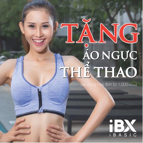 TẶNG ÁO NGỰC THỂ THAO iBX