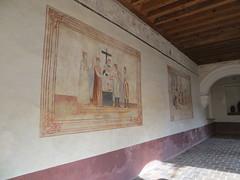 Tzintzuntzan Michoacn (Garenez) Tags: convento michoacn tzintzuntzan colibr claustro