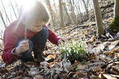 (Christian Kjaer) Tags: vinter natur illustrative planter danmark genre drenge alene brn mennesker barndom vintergkker skove rstider sllested nysgerrighed lgplanter barndomsbilleder fritidsliv skovbunde lollandsjlland