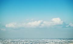Floating in the blue (OrangeK7) Tags: blue sky cloud relax tokyo air floating