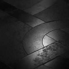 Abbey flooring 1 (Andrew Malbon) Tags: leica bw church abbey stone square blackwhite catholic stonecarving summicron devon paving highiso m9 buckfastleigh 90mmf2 divineinspiration iso2500 leicam9 maximumiso