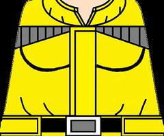 Bulma Namek yellow suit with boobs png (Jelly Kones) Tags: lego legodragonball legodbz legodragonballz buusaga legobulma bulma