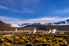 Geisers del Tatio II (Luiz Filipe M. Correia) Tags: chile gelo southamerica natureza paisagem cu atacama neve andes montanha geisers viagemdemoto