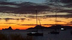 Sunset  in Formentera (Julyyaa) Tags: sunset espaa sol atardecer mar spain puestadesol formentera islas spanien mediterrneo baleares illesbalears islasbaleares