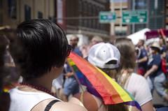 Steph and rainbow (speed6ump) Tags: gay friends love minnesota lesbian rainbow minneapolis pride parade transgender lgbt bisexual mn 2016