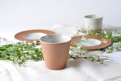 Tea-Bowl-white-brown-02 (cdkceramic) Tags: brown white ceramic teabowl   cdkceramic