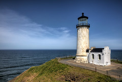 North Head Lighthouse (RH Miller) Tags: ocean usa lighthouse seascape oregon landscape pacificocean capedisappointment northheadlighthouse reedmiller rhmiller