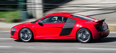 R8 @ Washington Soares (LeoMuse747) Tags: auto city red brazil motion blur sports car brasil photography town washington nikon automobile european image engine imagens autobahn automotive german fortaleza cear brazilian plus brake nikkor asphalt avenue audi em 70300mm panning northeast powerful ceara supercar vr spotting v10 autodromo r8 soares automotor d5100 brasilemimagens leomuse747