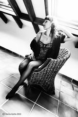 Iris - 16 [2012-01] (Gorka Goitia) Tags: portrait blackandwhite bw cute sexy blancoynegro beautiful beauty look pose book model eyes legs retrato gorgeous bn modelo sensual yeux ojos linda stunning estilo session framing mirada guapa serie belleza piernas sensualidad composicin sesin blancetnoir estilismo posado encuadre postura canoneos5d chercher modelpossing