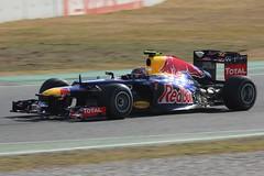 Mark Webber (glediator) Tags: barcelona cars f1 racing testing formulaone practice circuit formula1 circuitdecatalunya february2012