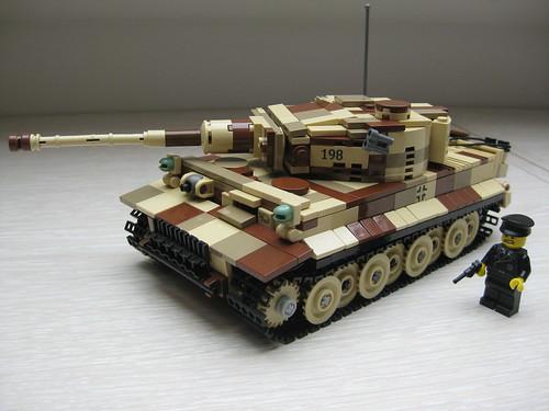 Tiger I 1:45 | Lego ww2 - YouTube