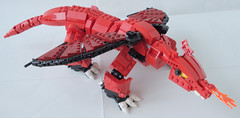Big Red - Title1 (.Jake) Tags: castle dragon lego fantasy
