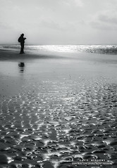 Low Tide (DMeadows) Tags: sea blackandwhite bw reflection beach water silhouette landscape mono coast scotland sand photographer tide coastline ripples tidal troon ayrshire davidmeadows dmeadows yahoo:yourpictures=waterv2 yahoo:yourpictures=yourbestphotoof2012